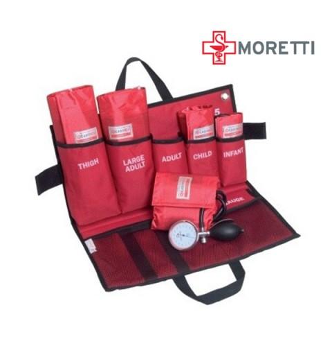 MEM905 - Kit de urgenta tensiometru aneroid mecanic MORETTI
