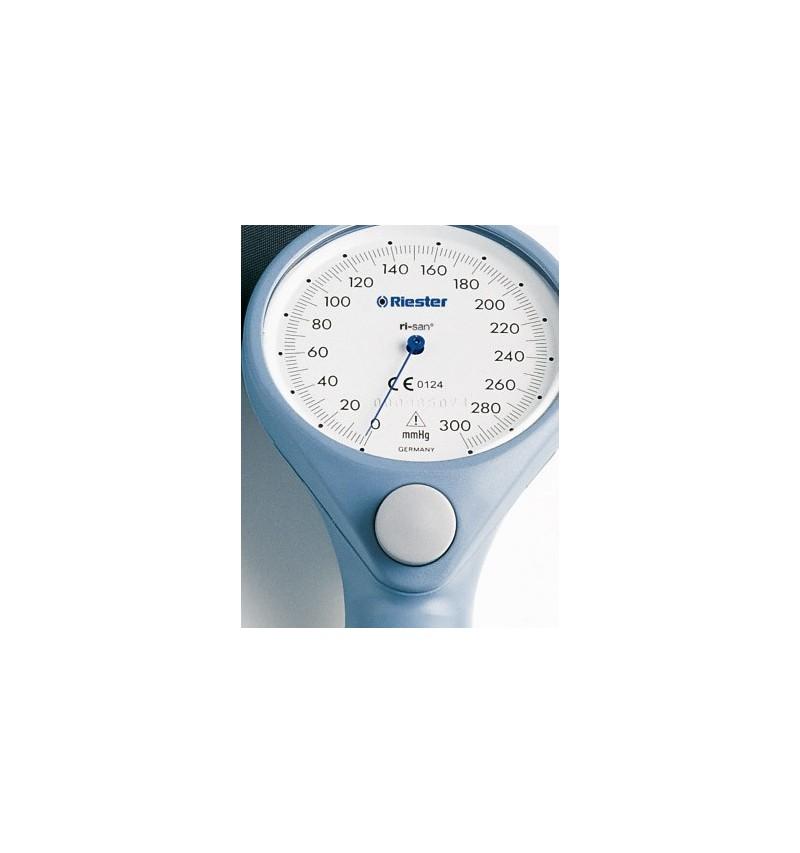 Tensiometru mecanic RIESTER Ri-san, albastru, cu stetoscop inclus - RIE1443-141