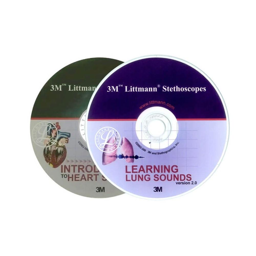 CD-uri educationale pentru stetoscoapele 3M™ Littmann®