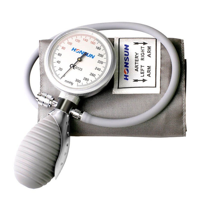 HS201Q1 - Tensiometru mecanic cu manometru la para cu un tub Elecson Cromat