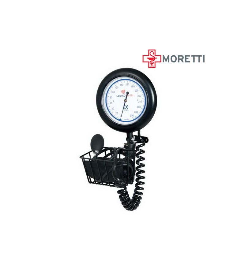 DM361 - Tensiometru mecanic cu cadran MORETTI cu suport pentru manseta