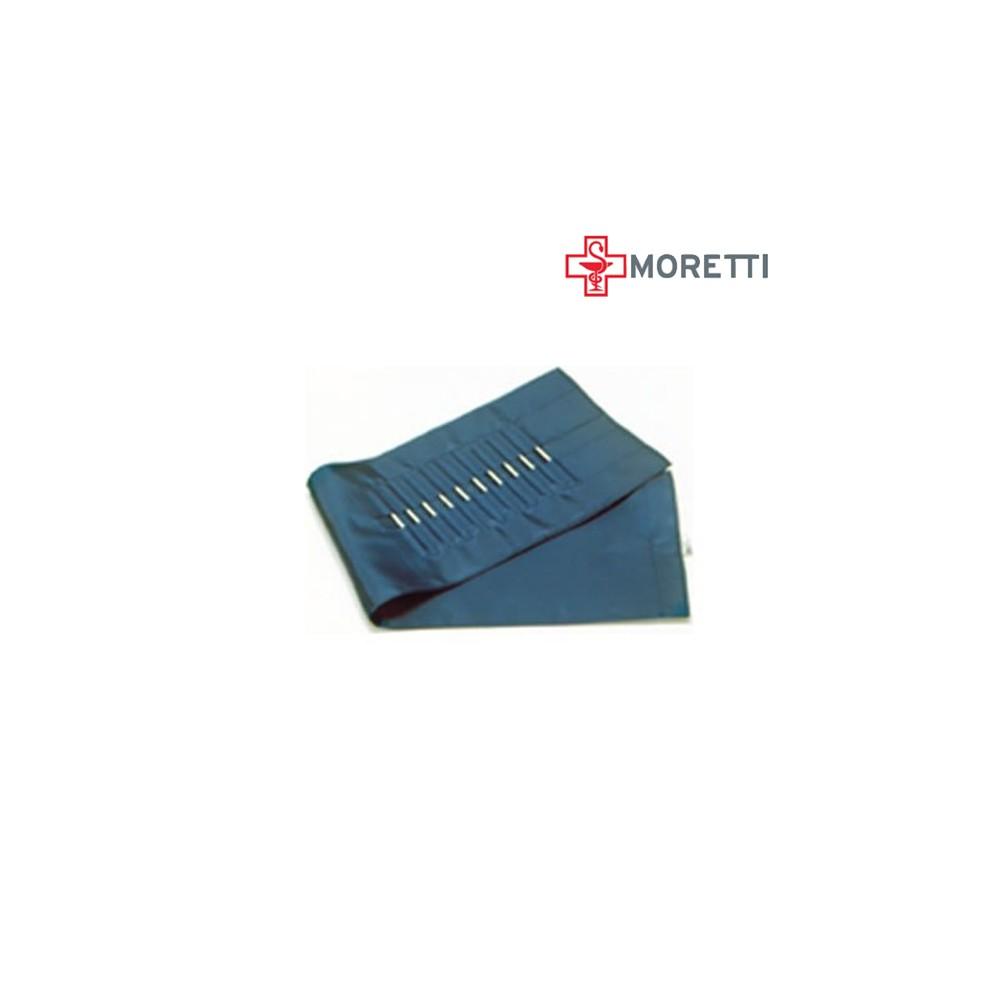 DR1426 - Manseta tensiometru MORETTI cu doua tuburi, pentru adulti, cu carlig