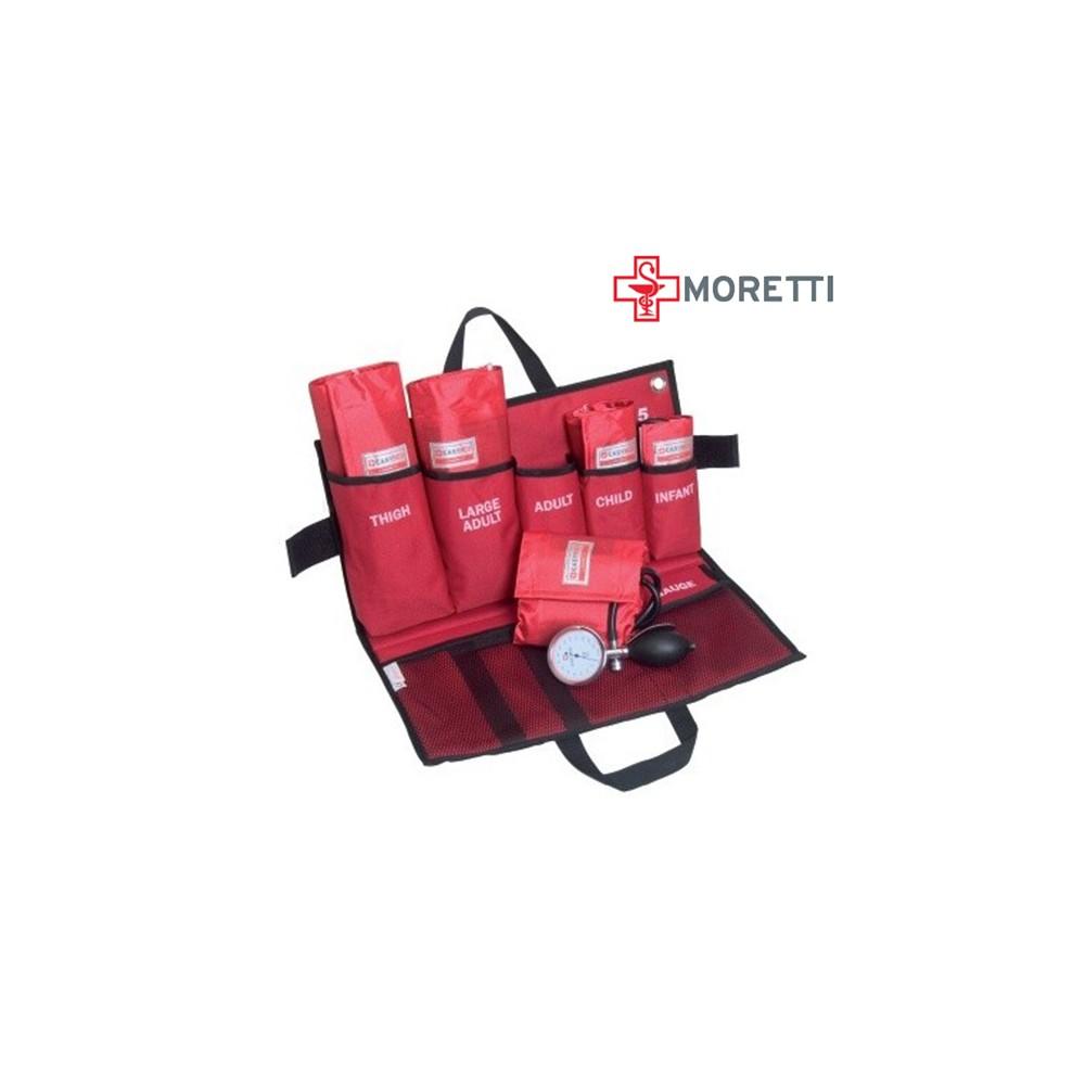 EM905 - Kit de urgenta tensiometru aneroid mecanic MORETTI