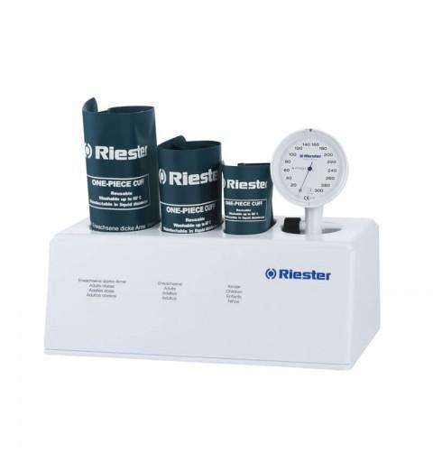 Tensiometru mecanic fara stetoscop RIESTER E-mega, cu 3 mansete - RIE1372