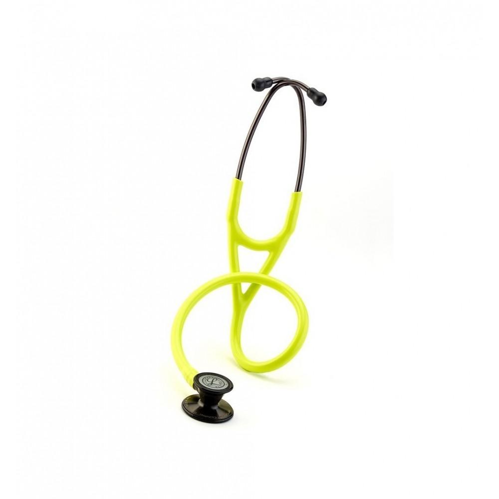 Cardiology III - Stetoscop 3M Littmann, 69 cm, Galben-lamaie, capsula fumurie