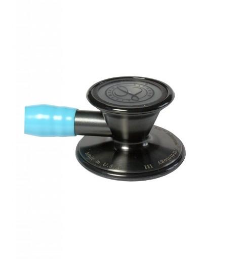 Cardiology III - Stetoscop 3M Littmann, 69 cm, Turcoaz, capsula fumurie