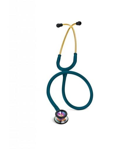 Classic II Pediatric - Stetoscop 3M Littmann, 71 cm, Turcoaz, capsula curcubeu