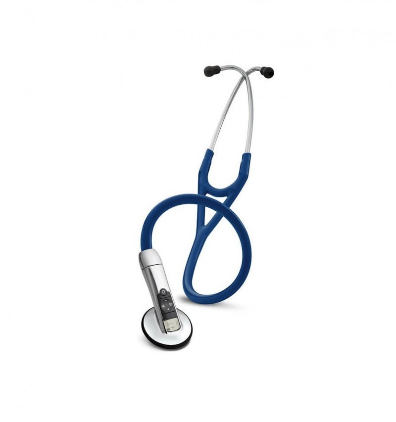 Electronic 3200 cu Bluetooth - Stetoscop 3M Littmann, 69 cm, Bleumarin