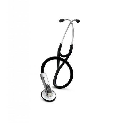Electronic 3200 cu Bluetooth - Stetoscop 3M Littmann, 69 cm, Negru
