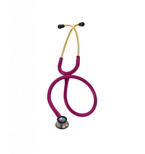 Classic II Infant - Stetoscop 3M Littmann, 71 cm, Roz inchis, capsula curcubeu