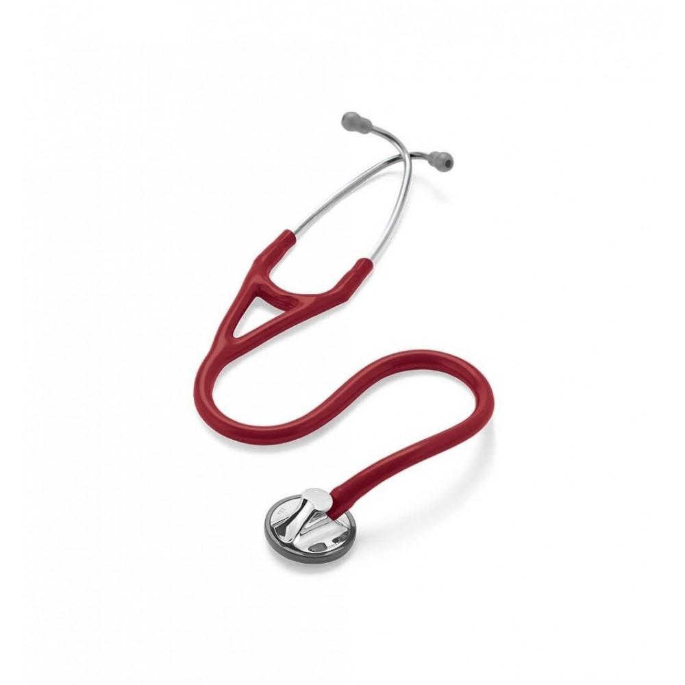 Master Cardiology - Stetoscop 3M Littmann, 69 cm, Rosu Burgundia
