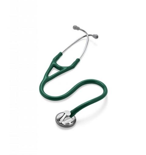Master Cardiology - Stetoscop 3M Littmann, 69 cm, Verde inchis