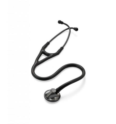 Master Cardiology - Stetoscop 3M Littmann, 69 cm, Negru, capsula fumurie