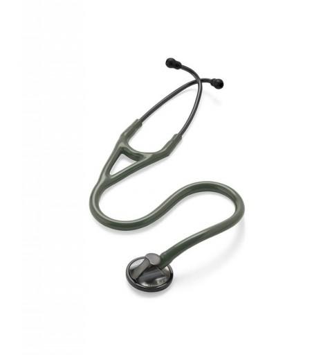 Master Cardiology - Stetoscop 3M Littmann, 69 cm, Masliniu, capsula fumurie
