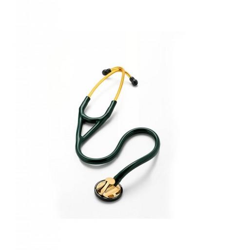 Master Cardiology - Stetoscop 3M Littmann, 69 cm, Verde inchis, capsula alama