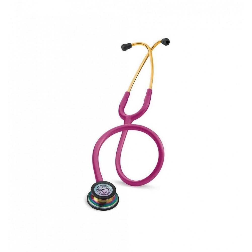 Classic III - Stetoscop 3M Littmann, 69 cm, Roz inchis, capsula curcubeu