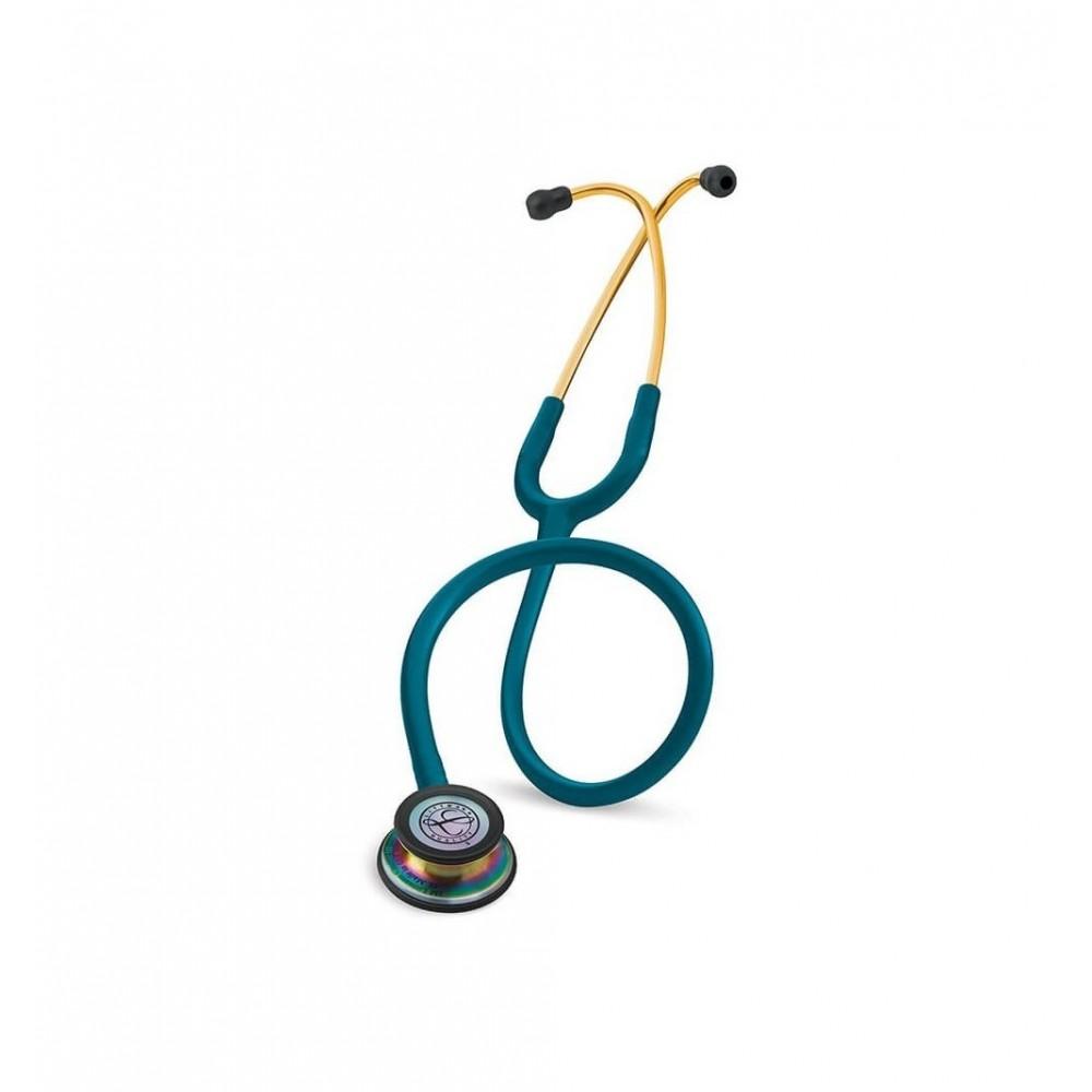Classic III - Stetoscop 3M Littmann, 69 cm, Turcoaz, capsula curcubeu