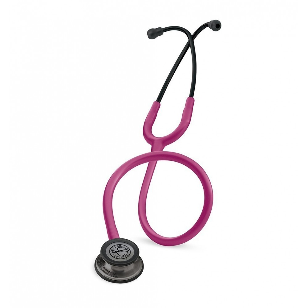 Classic III - Stetoscop 3M Littmann, 69 cm, Roz inchis, capsula fumurie