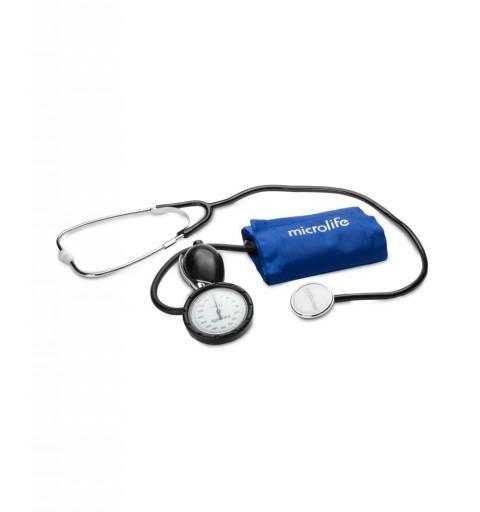 Tensiometru mecanic profesional cu stetoscop si manometru la para Microlife BP AG1-40