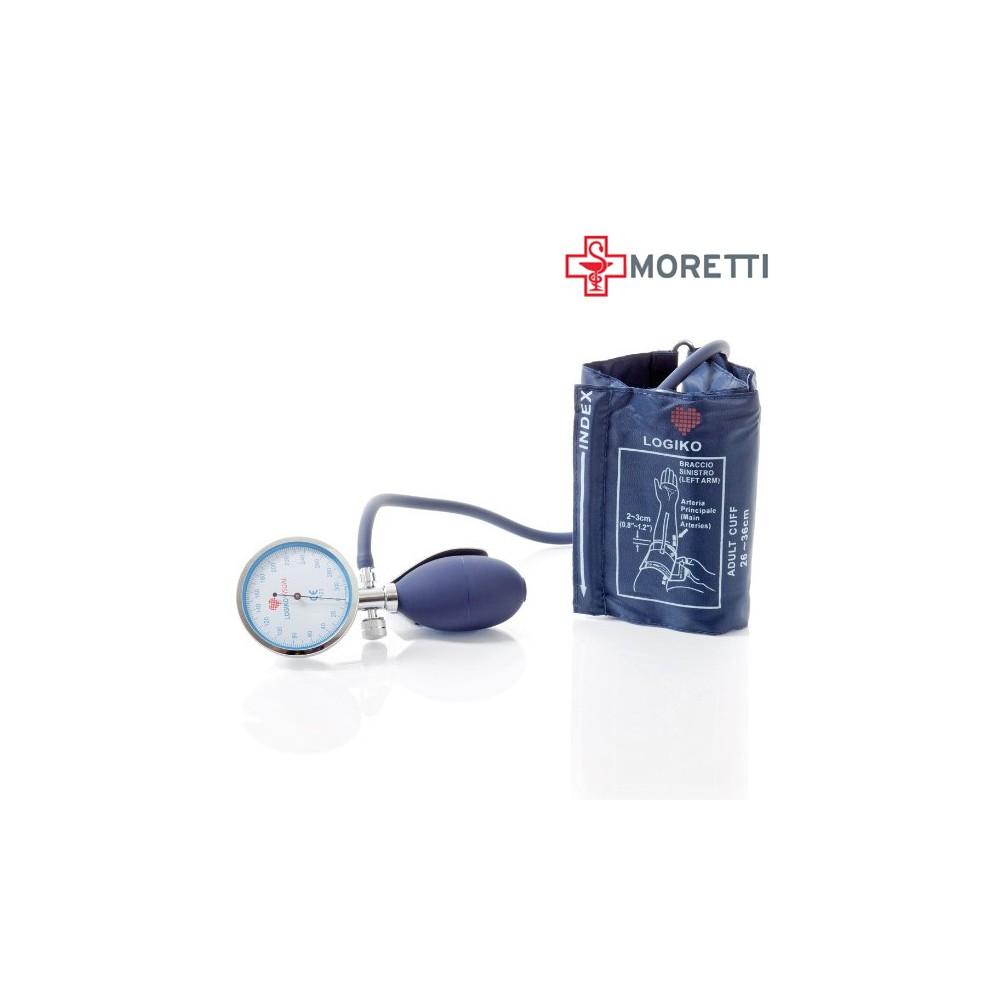 DM345 - Tensiometru mecanic cu manometru la para MORETTI Cromat