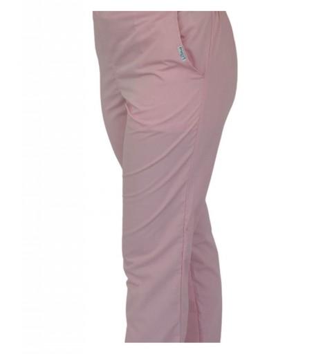 Pantalon unisex Lotus 4, roz