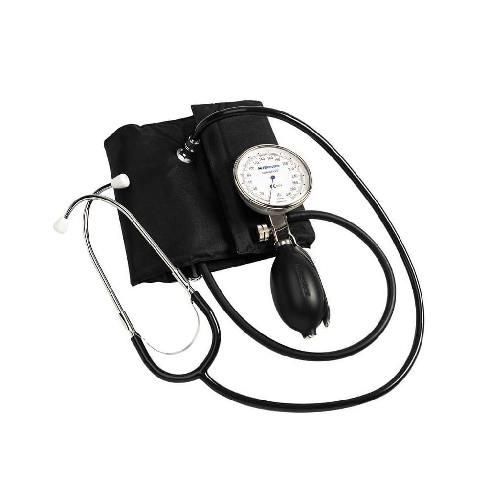 Tensiometru mecanic RIESTER Sanaphon, pentru obezi, cu stetoscop inclus - RIE1442-142
